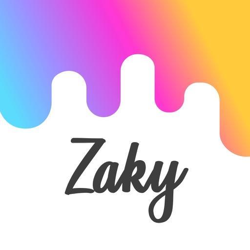 Zaky -مصادقة باسم مجهول-SocialPeta