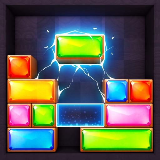 Dropdom™ Puzzle Block Jewel-SocialPeta