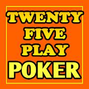 Twenty-Five Play Poker - Free!-SocialPeta