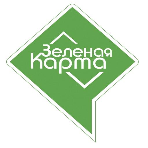 Зеленая карта-SocialPeta
