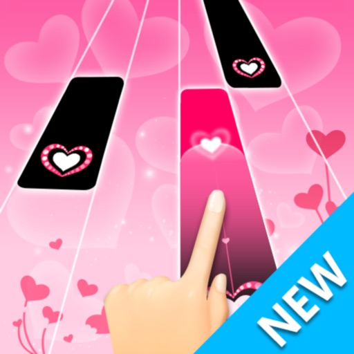 Magic Pink Tiles 3: Piano Game-SocialPeta