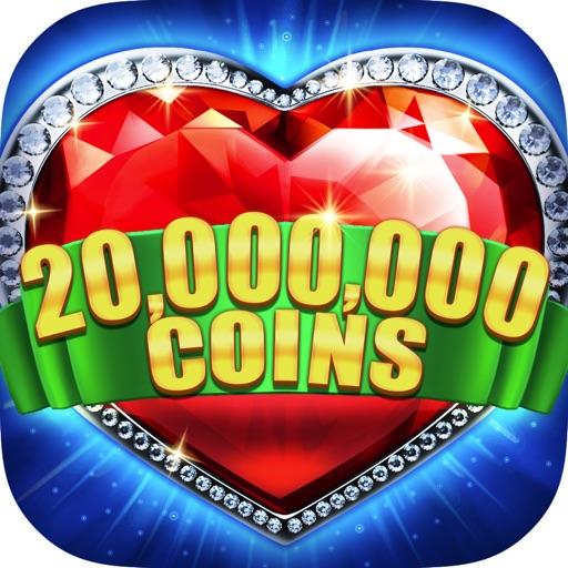 Slots-Heart of Diamonds Casino-SocialPeta