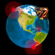 Quake  Volcanoes: 3D Globe of Volcanic Eruptions-SocialPeta