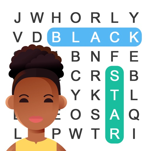 Black Star Word Search-SocialPeta