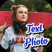 Add Text On Photo - Photo Text Editor-SocialPeta
