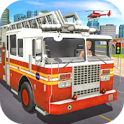 City Fire Truck Rescue-SocialPeta