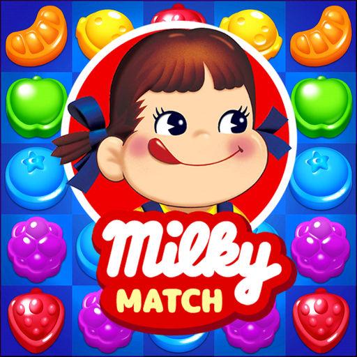 ミルキーマッチ:ペコちゃんパズルゲーム-SocialPeta