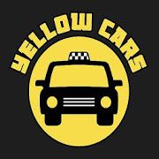 Yellow Cars Taxi-SocialPeta