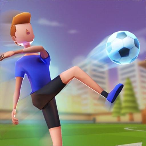 Flick Goal!-SocialPeta