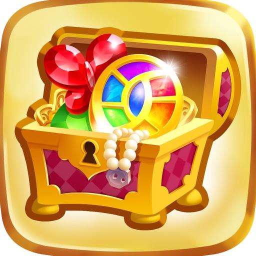Genies & Gems: Puzzle & Quests-SocialPeta