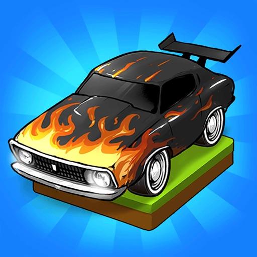 Merge Muscle Car-SocialPeta