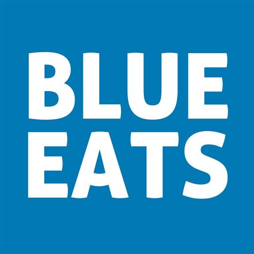 BLUE EATS-SocialPeta
