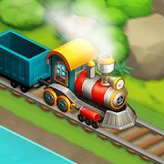 Train town - 3 match merge magic puzzle games-SocialPeta