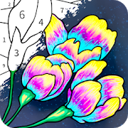 Always Color -Coloring by Number Tap to Paint Game-SocialPeta