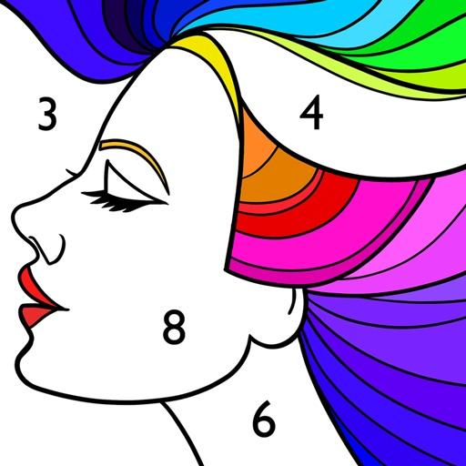 Paint by Numbers: Colour Games-SocialPeta