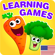 FUNNY FOOD 2! Educational Games for Kids Toddlers!-SocialPeta