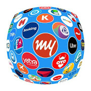 All MyTrip: Flight Hotel Bus Cab IRCTC Booking App-SocialPeta