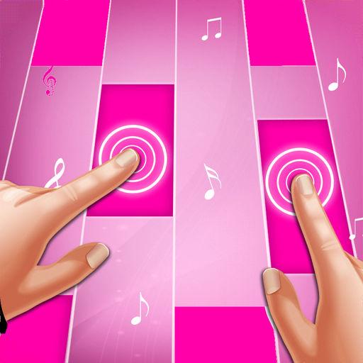 Pink Piano Tiles : Piano Games-SocialPeta