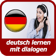 Learning German With dialogues-SocialPeta