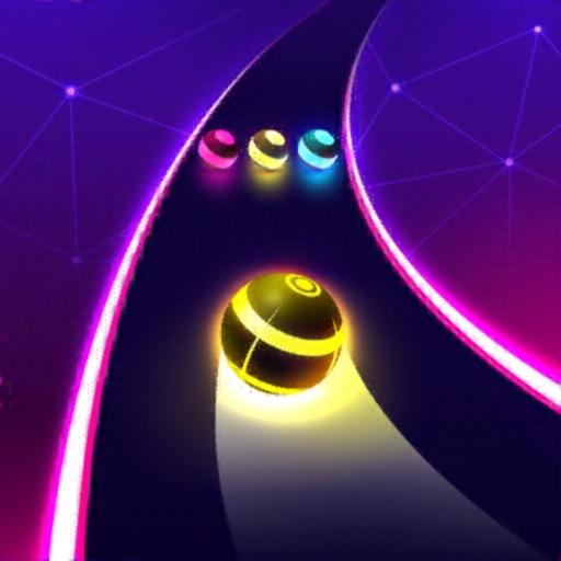 Dancing Road: Color Ball Run!-SocialPeta