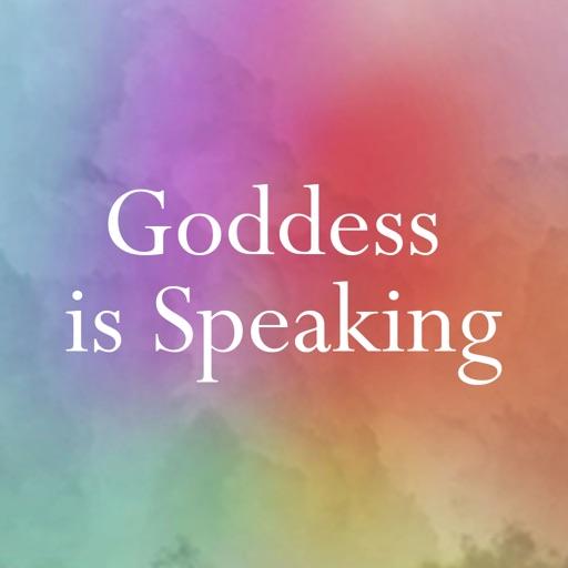 Goddess is Speaking-SocialPeta