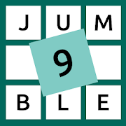 9 Letter Jumble - Unscramble the letters-SocialPeta