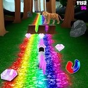 Unicorn Dash: Jungle Run 3D HD-SocialPeta