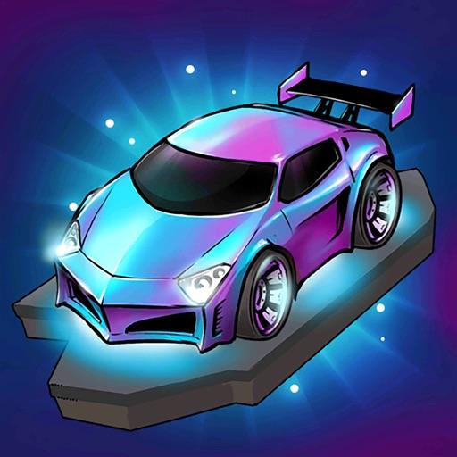 Merge Neon Car-SocialPeta