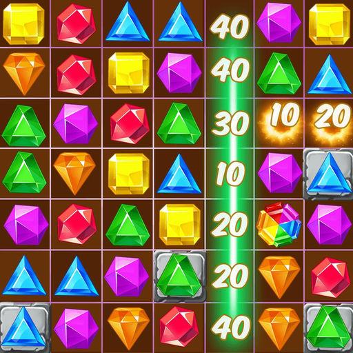 Jewel Fever - Match 3 Games-SocialPeta