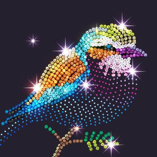 Diamond - Happy Color Art Game-SocialPeta