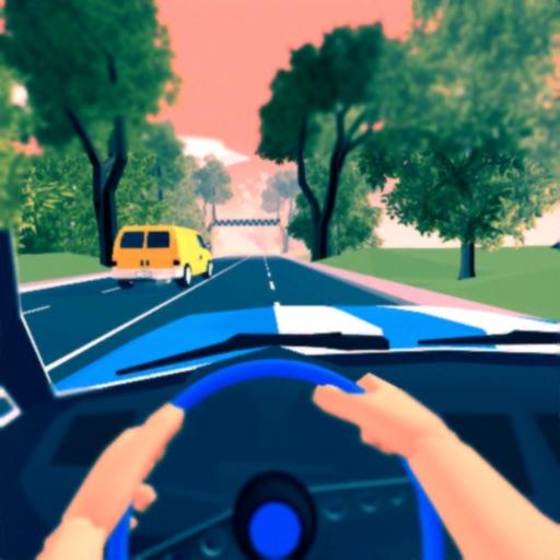 Fast Driver 3D-SocialPeta