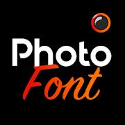 Photofont Text Over Photo-SocialPeta