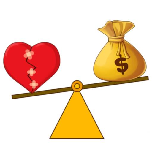Love or Money-SocialPeta
