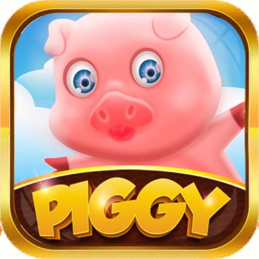 PIGGY : piggy avoid the lion-SocialPeta