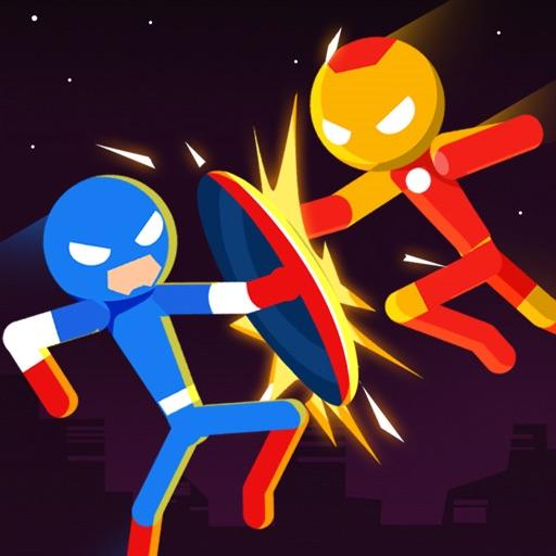 Stick Superhero: Offline Games-SocialPeta