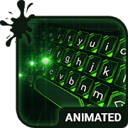 Green Light Animated Keyboard-SocialPeta